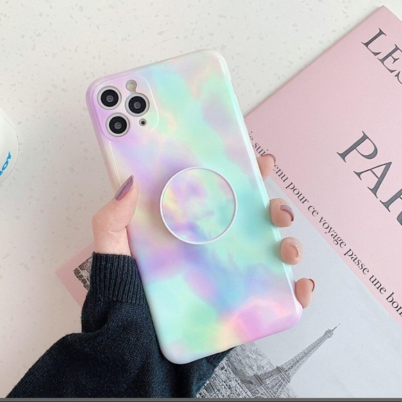 💕Tie Dye iPhone Case w/ Holder💕